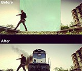 before after movie scene