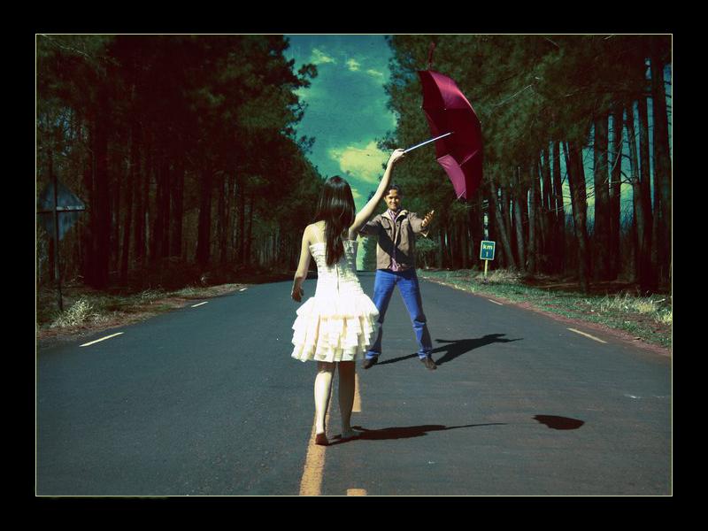 photo manipulation romantic wallpaper