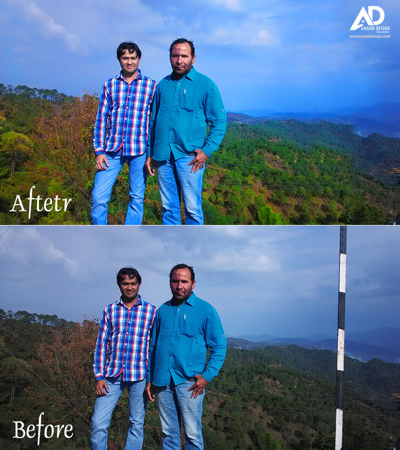 Enhance & Retouch Image Photoshop Tutorial