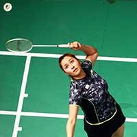 Jwala Gutta Indian badminton player