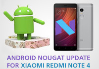 android nougat update redmi note 4
