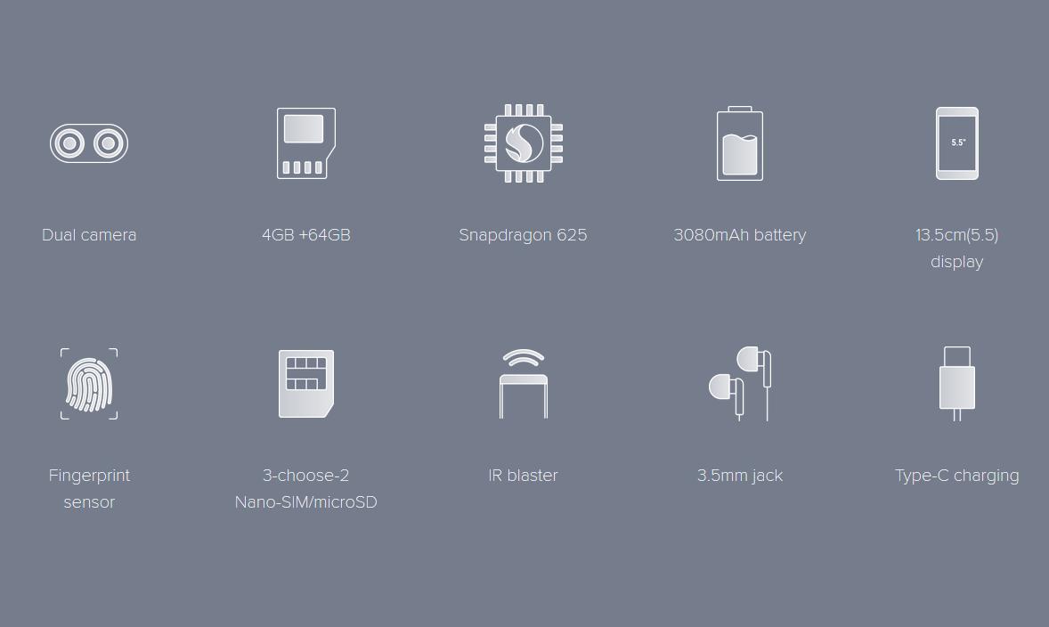 Xiaomi Mi A1 Picture Perfect Dual Camera