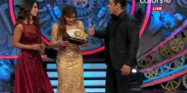 Shilpa Shinde win the show Bigg Boss 11 grand finale