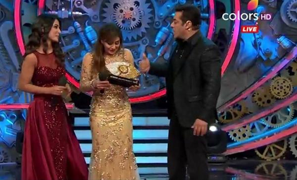 Shilpa Shinde win the show Bigg Boss 11 grand finale