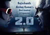 Rajinikanth & Akshay Kumar most expensive movie robot 2.0